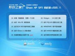 系统之家WinXP 电脑城装机版 2020.11